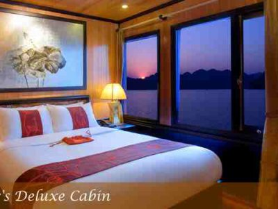 ...the Indochina Sails , a wooden junk that combines classic beauty with...